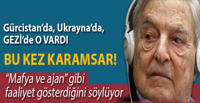 """Macaristan'ın Başbakanı Soros'un """"mafya ve ajan"""" gibi faaliyet gösterdiğini söylüyor."""