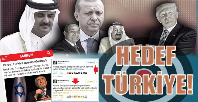 Hedef; Doğrudan Türkiye ve Erdoğan!
