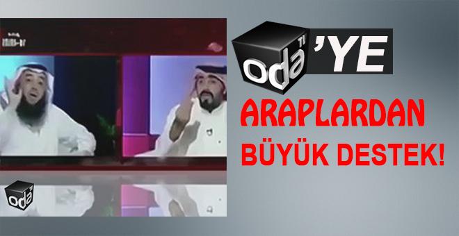 Oda tv'ye Araplardan büyük destek!