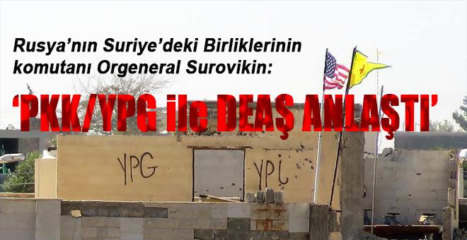 'PKK/YPG, Rakka'dan çatışmadan çekilmesi için DEAŞ ile anlaştı'