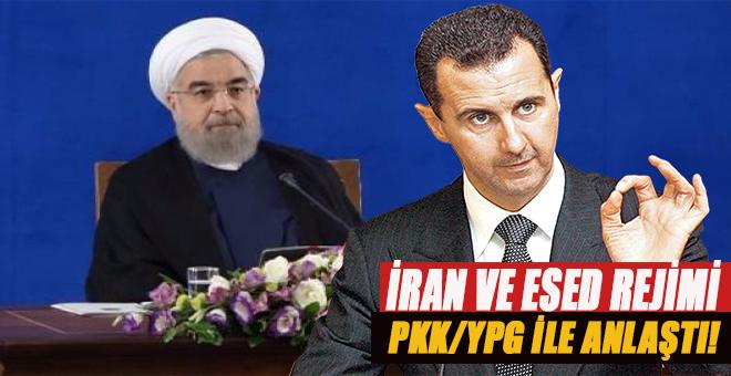 İran ve Esed rejimi de PKK/YPG ile anlaştı!
