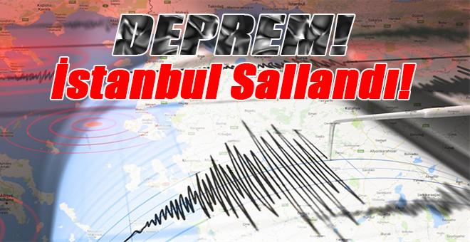 Ege açıklarında şiddetli deprem; İstanbul, İzmir ve Bursa'yı salladı!