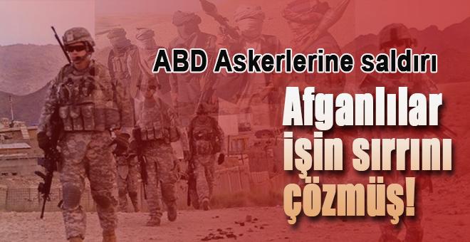 Afganistan'da ABD askerlerine saldırı; Afganlılar işin sırrını yakalamışlar!