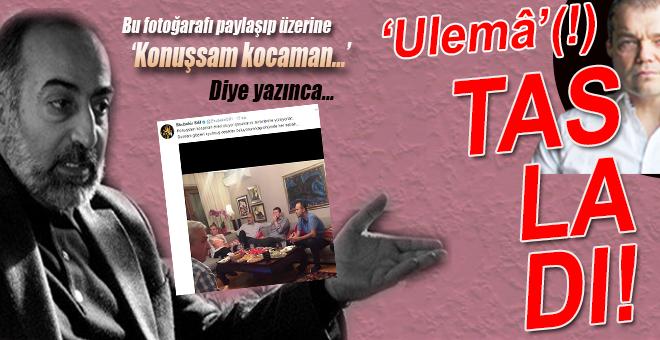 Ebubekir Sifil, fotoğrafı paylaşıp, üzerine bunları yazınca, 'Ulema'(!) fena şarladı!