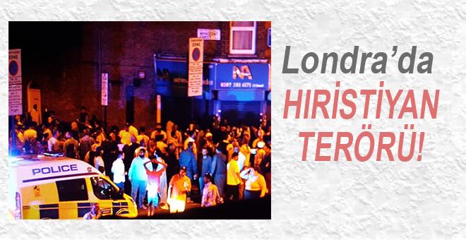 """Londra'da """"Hıristiyan"""" terörü!"""