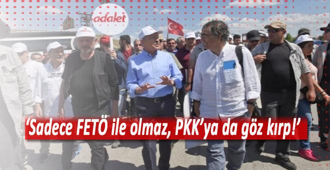 """'Sadece FETÖ olmaz, PKK'ya da göz kırp!"""""""
