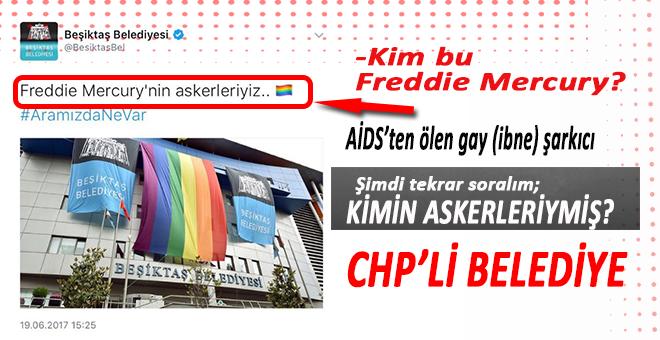 Beşiktaş Belediyesi, bakın kimin askeriymiş?