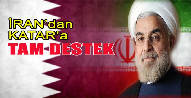 İran'dan Katar'a tam destek!