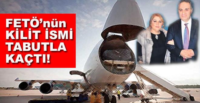FETÖ'nün kilit ismi Türkiye'den tabutla kaçtı
