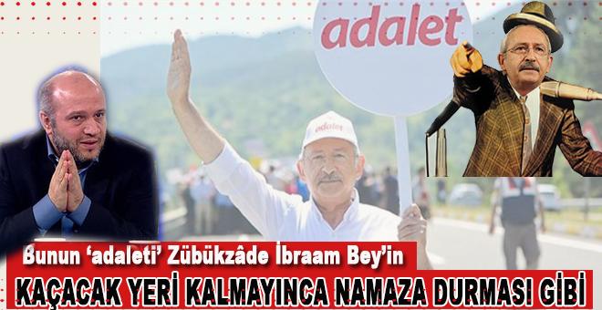 """Belki de Kılıçdaroğlu bunun için """"adalet"""" yürüyüşüne kaçtı!"""