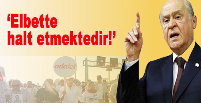 """Bahçeli'den Kılıçdaroğlu'na; """"Halt etmektedir!"""""""