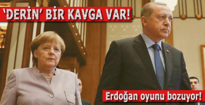 """""""Almanya ile savaştayız; Türkiye siyasi tarihimizde örneği görülmemiş bir direnç gösteriyor!"""""""