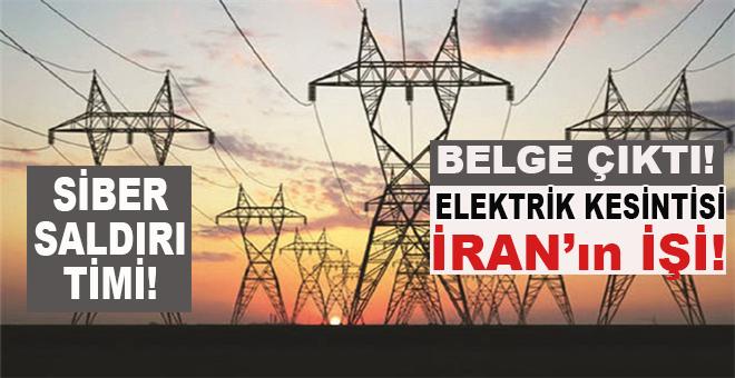 Sebebi anlaşılmayan elektrik kesintisi İran'ın işi!