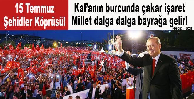 """Cumhurbaşkanı Erdoğan; """"Bu millete kim zincir vurabilir!.."""""""