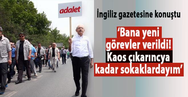 Kılıçdaroğlu: Daha fazla sokak protestosu yapacağım!