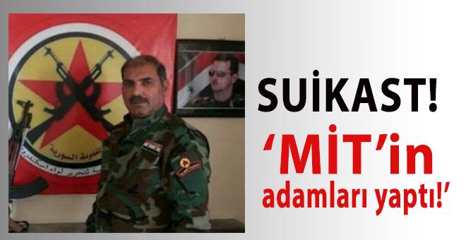 Suriye'deki, Türkiye düşmanına suikast!