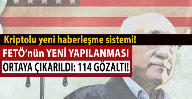 İzmir'de yeni FETÖ yapılanması ortaya çıkarıldı : 114 gözaltı