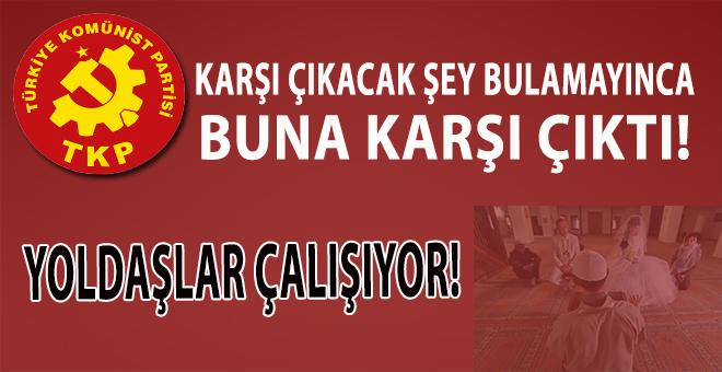 """Türkiye Komünist Partisi'nden """"Dinî nikâh"""" açıklaması!"""