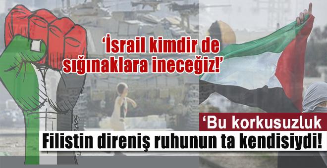 """Salih Tuna; """"Bu korkusuzluk, Filistin direniş ruhunun ta kendisiydi!"""""""