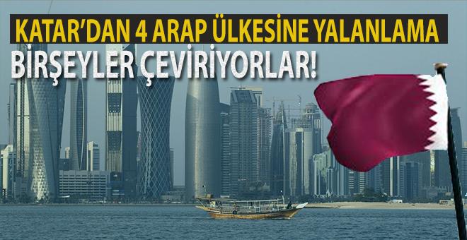 Katar'dan 4 Arap ülkesine yalanlama!