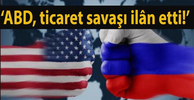 """Rusya Başbakanı Medvedev: """"ABD ticaret savaşı ilan etti!"""""""