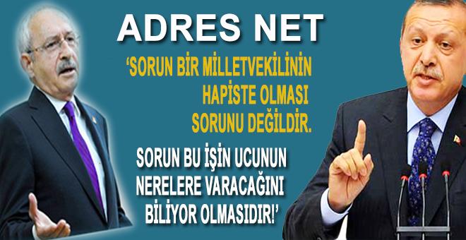 """Cumhurbaşkanı Erdoğan; """"Sorun, bir milletvekilinin hapiste olması değil, sorun bu işin ucunun nerelere varacağını biliyor olmasıdır!"""""""