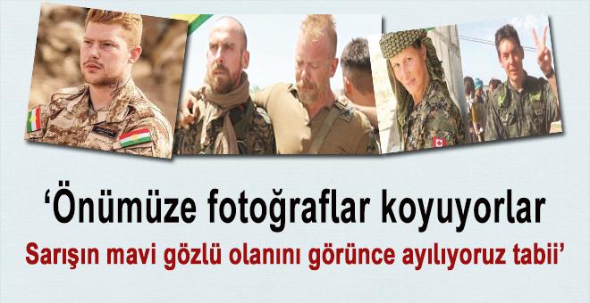 """Haşmet Babaoğlu; """"Önümüze fotoğraflar koyuyorlar, sarışın mavi gözlü olanını görünce ayılıyoruz tabii'"""