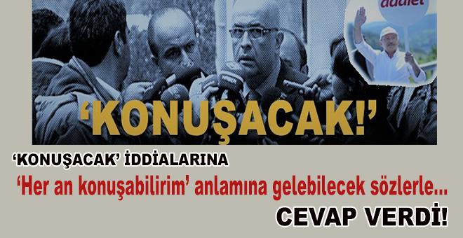 Berberoğlu, 'Konuşacak' iddiaları üzerine konuştu!
