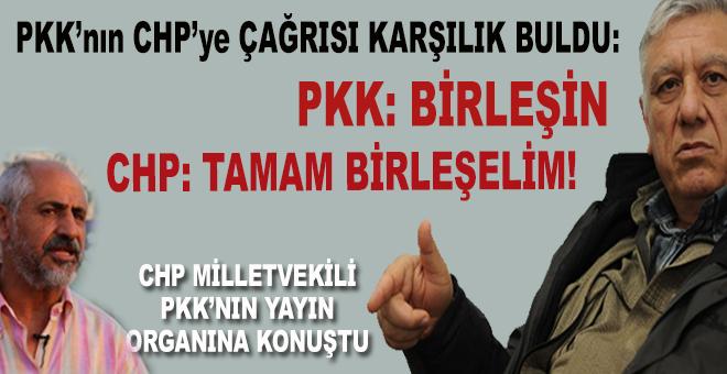 PKK'nın 'birleşin' çağrısına CHP'li vekil cevap verdi; Birleşelim!
