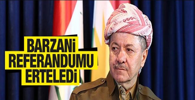 Mesut Barzani referandumu erteliyor!
