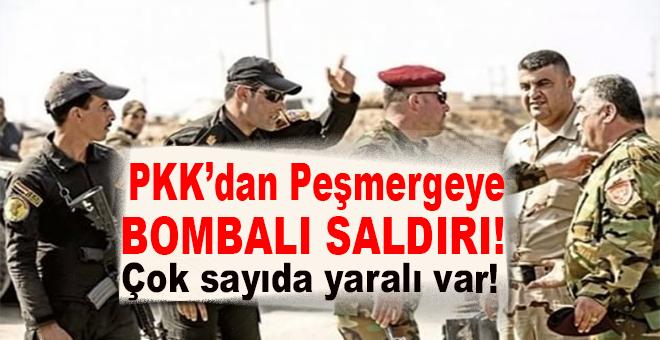 PKK'dan Peşmergeye bombalı saldırı; Çok sayıda yaralı var!