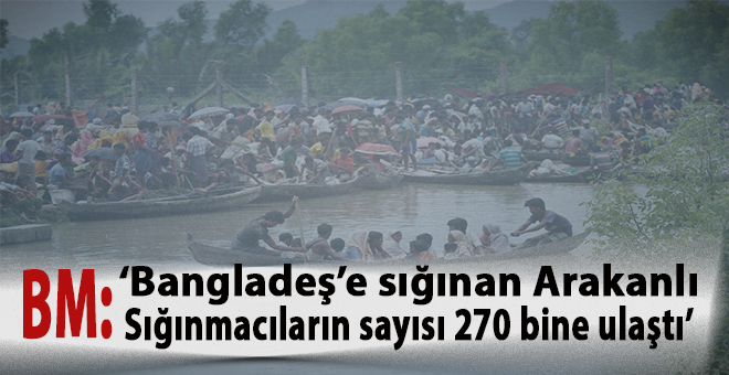 BM: Arakan'da 1000'den fazla kişi ölmüş olabilir!
