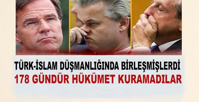 Türk İslam düşmanlığında çabucak birleşmişlerdi, ama hükümet kurmak için birleşemediler!