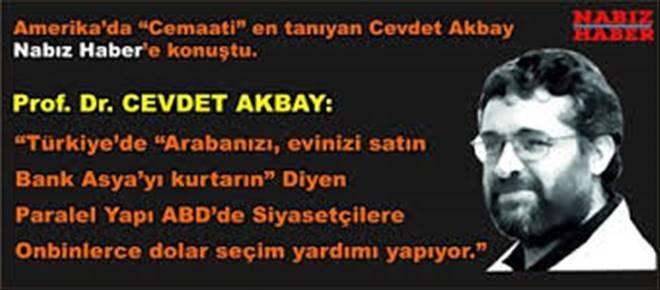 Prof. Dr. Cevdet Akbay Nabız Haber`e konuştu