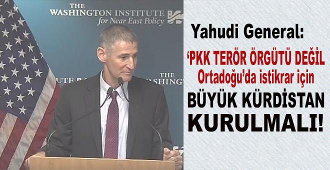 Yahudi kukla 'Kürdistan' konusunda net; Büyük Kürdistan kurulmalı!