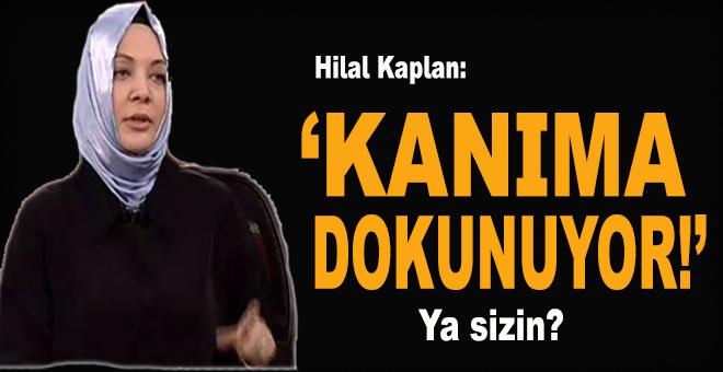 Hilal Kaplan: Kanıma dokunuyor!