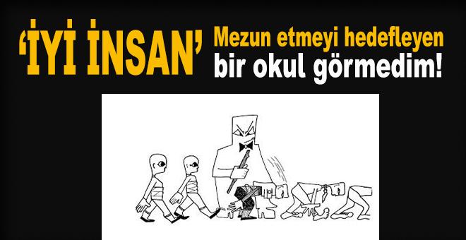"""Haşmet Babaoğlu: """"İyi insan"""" mezun etmeyi hedefleyen bir okul görmedim!"""""""