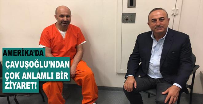 Dışişleri Bakanı Çavuşoğlu ABD'de tutuklu bulunan Sinan Narin ve Eyüp Yıldırım'ı ziyaret etti!