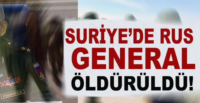 Suriye'de Rus General öldürüldü!