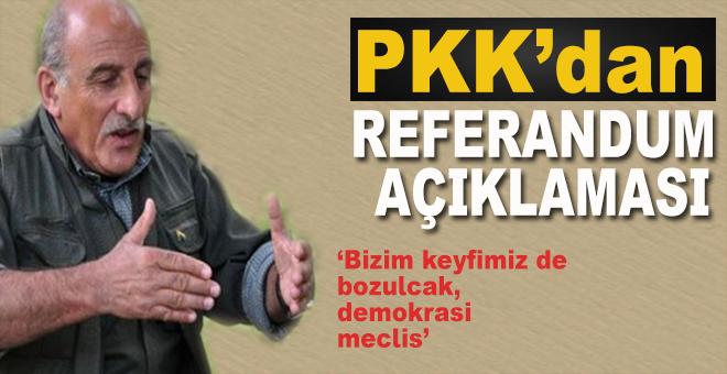 PKK'den Barzani ve referandum açıklaması!