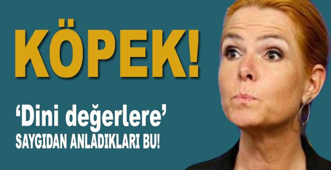 Danimarkalı bakandan Hz Muhammed'e hakaret!