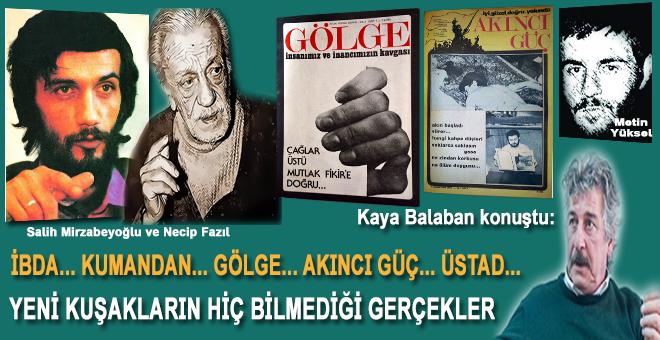 """Kaya Balaban: """"Allah Rızası İçin Yaptığımız Hiçbir Şeyde Canımız Acımadı!"""""""