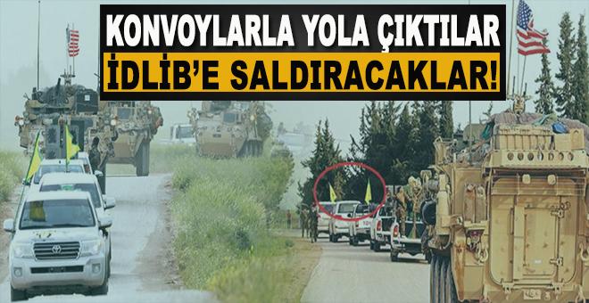 ABD Destekli PKK'dan İdlib'e saldırı hazırlığı!