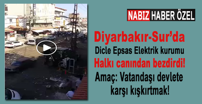 Diyarbakır-Sur'da vatandaşa kasıtlı eziyet!