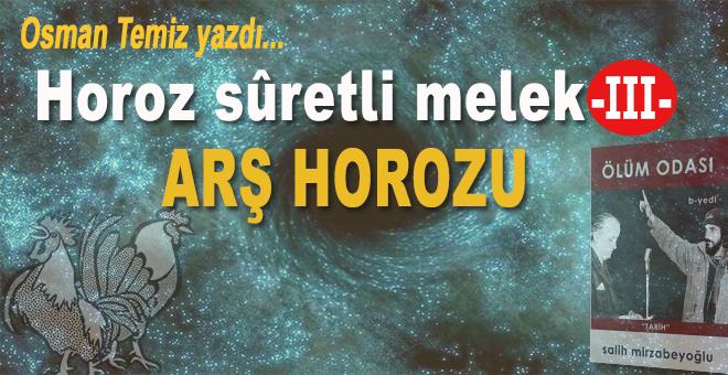 Osman Temiz yazdı; Horoz Sûretli Melek -III-