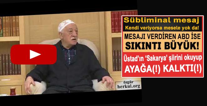 """Amerikan ajanı vaiz, Necip Fazıl'ın """"Sakarya""""sı ile mesaj verdi!"""