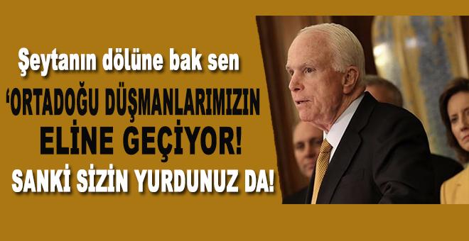 """McCain, """"ABD'nin Ortadoğu'daki gücü ve nüfuzu azalıyor..."""""""