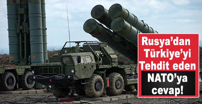 Rusya'dan NATO'ya Türkiye için S-400 mesajı!