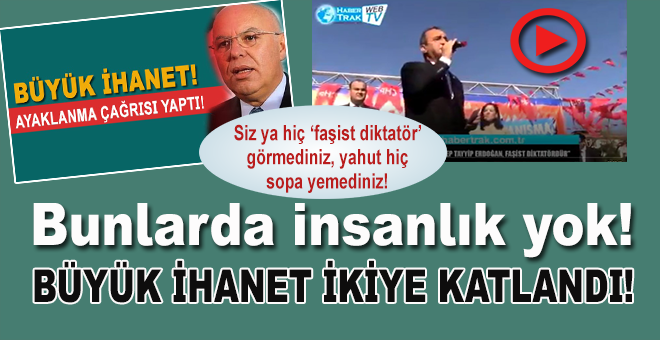 Bunlarda insanlık yok; Cumhurbaşkanı Erdoğan'a küstah saldırı!