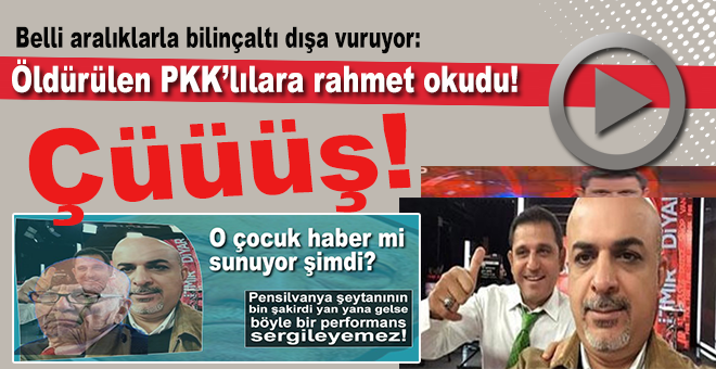 Fatih Portakal; PKK'lılara rahmet okudu!